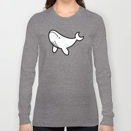 Humpback Whale Icon Long Sleeve T-shirt