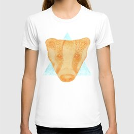Native Aztec Badger T-shirt