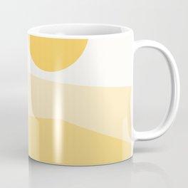 Abstract Landscape 09 Yellow Coffee Mug