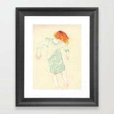 Move! Framed Art Print