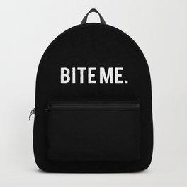 BITE ME. Backpack