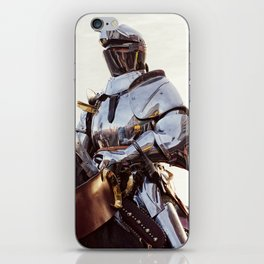Knight In Shining Armour iPhone Skin
