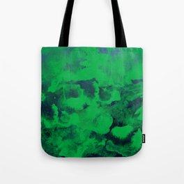 Green Watercolor Tote Bag