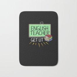 Gifts For Teachers: English Teachers Get Lit Bath Mat