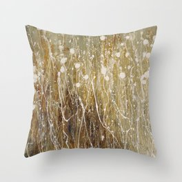 floral abstrakt Throw Pillow