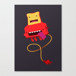 Red Toast Canvas Print