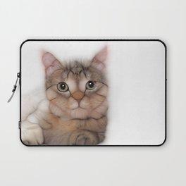 kitten cat posing for portret Laptop Sleeve