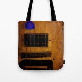 Blue Plectrum Tote Bag