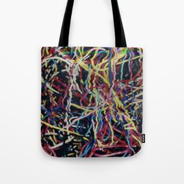 Static Wires Tote Bag
