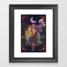 Sleepy Hollow - Abbie and Crane Framed Art Print