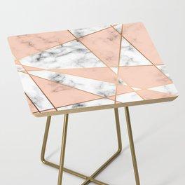 Marble Geometry 050 Side Table