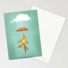 Fish Cover Stationery Cards