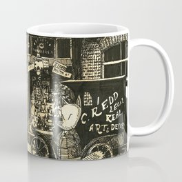 Nook's Grocery and C. Redd's Mobile Art Emporium Coffee Mug