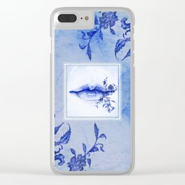 Porcelain Lolita Clear iPhone Case
