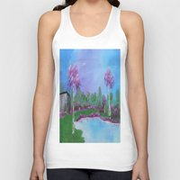 relax Tank Tops featuring relax by Krista May