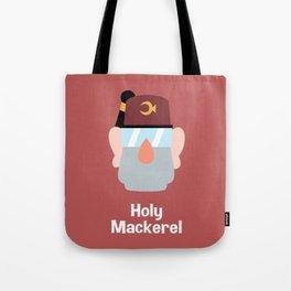 Holy Mackerel Tote Bag