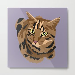 Tigger the cat Metal Print
