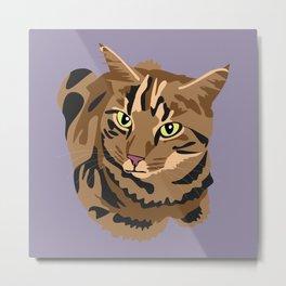 Tigger the cat Metal Print