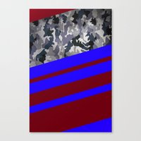 camo Canvas Prints featuring Camo by Fox Industries