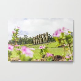 Floral Foresight Metal Print