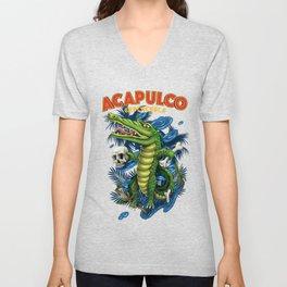 Acapulco Unisex V-Neck