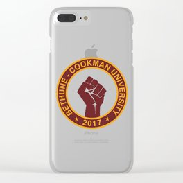 BETHUNE-COOKMAN CLASS OF 2017 Clear iPhone Case