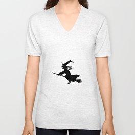White Witch Unisex V-Neck