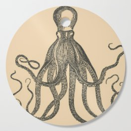 Vintage Octopus Cutting Board