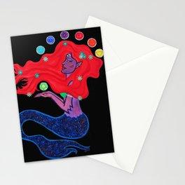 Cosmic Mermaid Stationery Cards