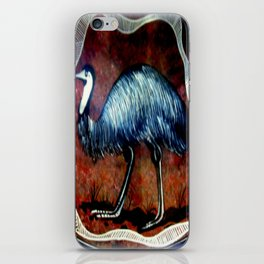Aboriginal Art - Emu iPhone Skin