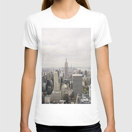 Empire State Building New York City, USA - Travel Photography fine art wall print T-shirt