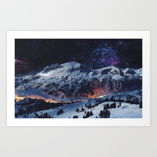 Magical Mountain Art Print