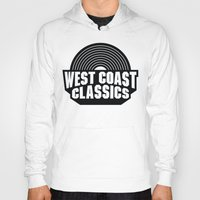west coast Hoodies featuring West Coast Classics by Popp Art