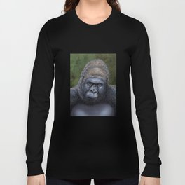 Endangered Gorilla Long Sleeve T-shirt