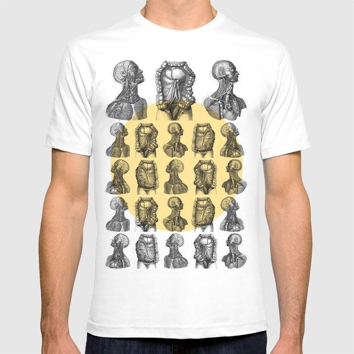 Human Anatomy Pattern T Shirt By Dividus Society6