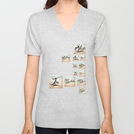 Stop acting so small Unisex V-Neck