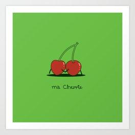 Ma Cherrie Art Print