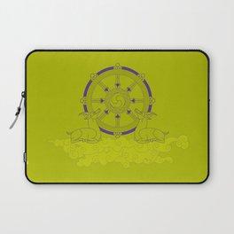Dharmachakra – Wheel of Law Laptop Sleeve