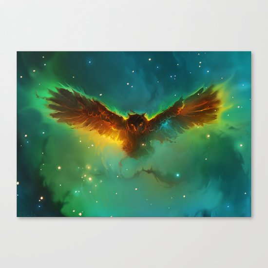 Owl Nebula Canvas Print