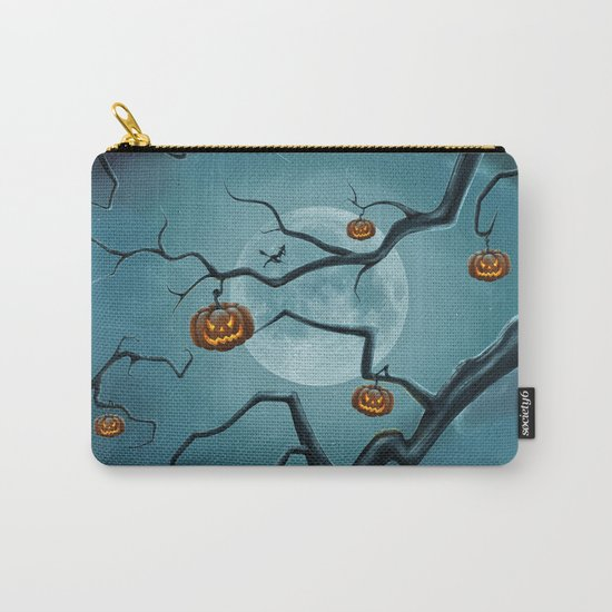 Halloween Tree Carry-All Pouch