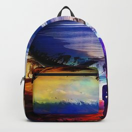 Trough a time portal Backpack