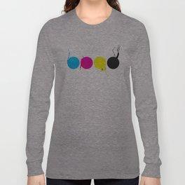 CMYK Long Sleeve T-shirt