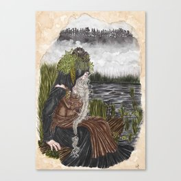 Nerthus the Earth Goddess Canvas Print