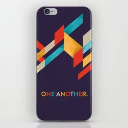 One Another Scripture Poster: Romans 12 iPhone Skin