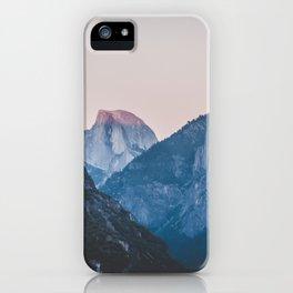 Yosemite sunset II iPhone Case