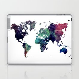 Map of the World After Ice Age Laptop & iPad Skin