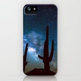 Milky Way Cacti iPhone Case