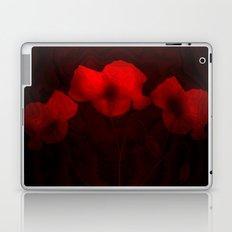 Poppies aglow Laptop & iPad Skin