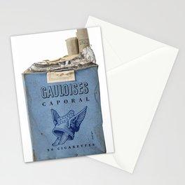 Gauloises 20 Cigarettes France Vintage Pack 1968 Stationery Cards