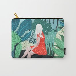 Forest Gaze Carry-All Pouch